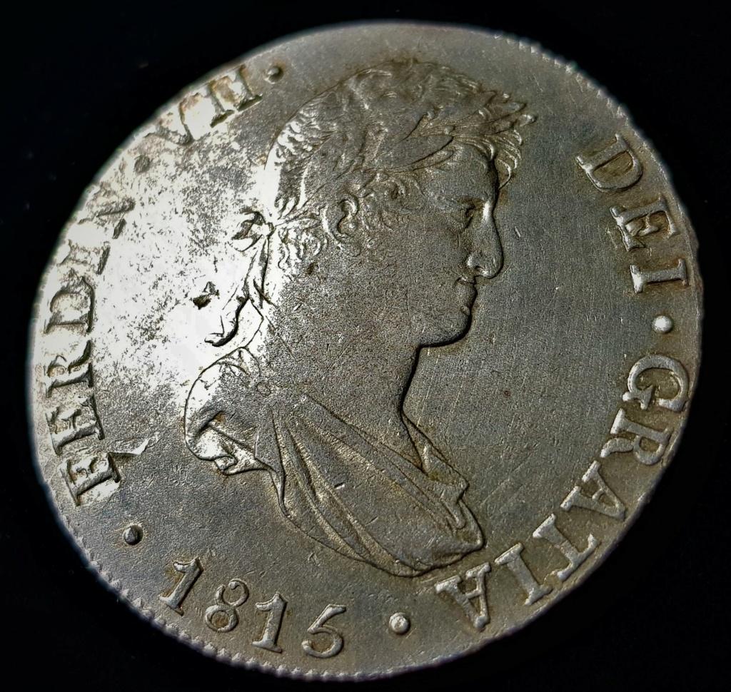 Fernando VII. Lima. JP. 8 reales de 1815 20210613