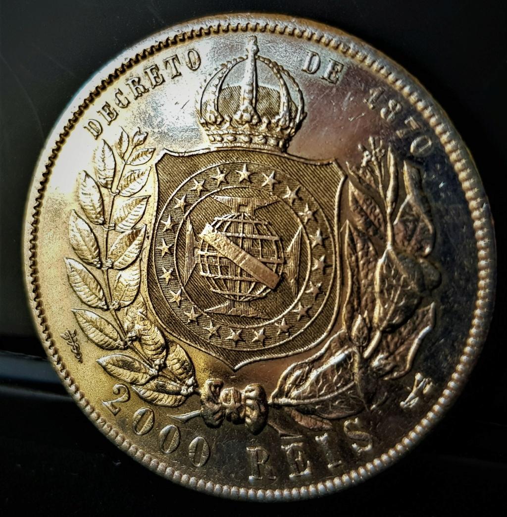 BRASIL 2000 Reis Emperador D. Petrus II 1888 20210617