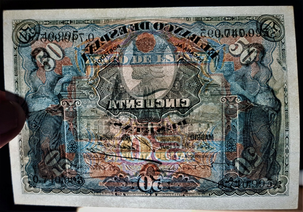 50 Pesetas 15 Julio 1907 20210626
