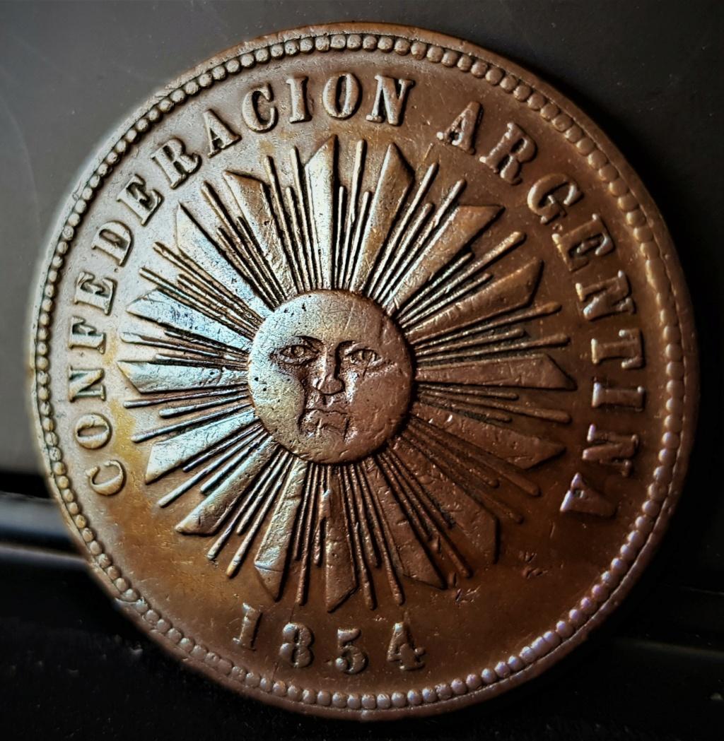 4 Centavos de 1854 de la Confederación Argentina 20210629