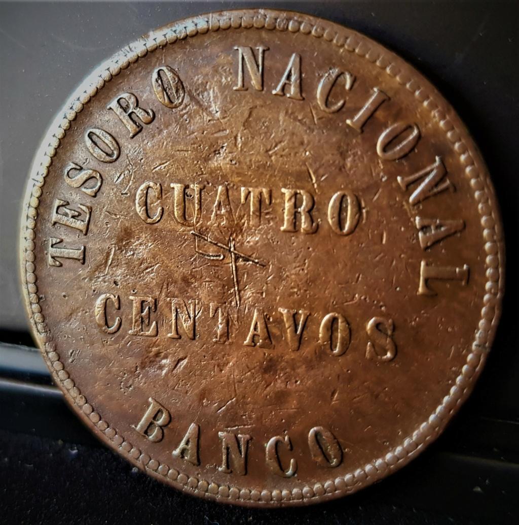 4 Centavos de 1854 de la Confederación Argentina 20210630