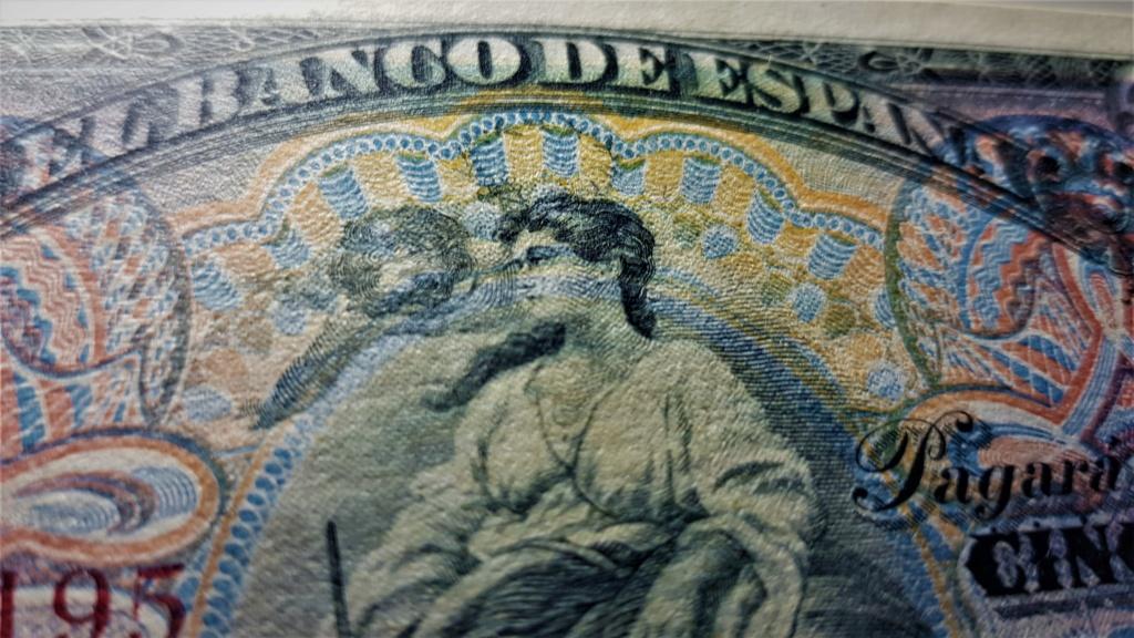 50 pesetas del 24 de septiembre de 1906.Serie A 20210637