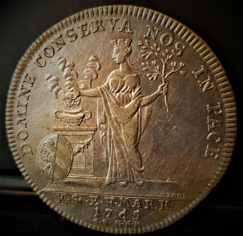 NUREMBERG 1 Thaler de 1765 (Free Imperial City of Nuremberg) 20210639