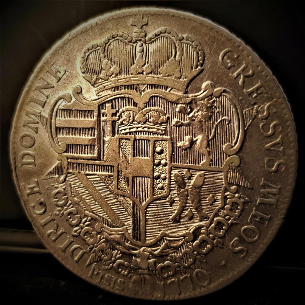 1 Francescone de 1770 de Pietro Leopoldo di Lorena 20210718