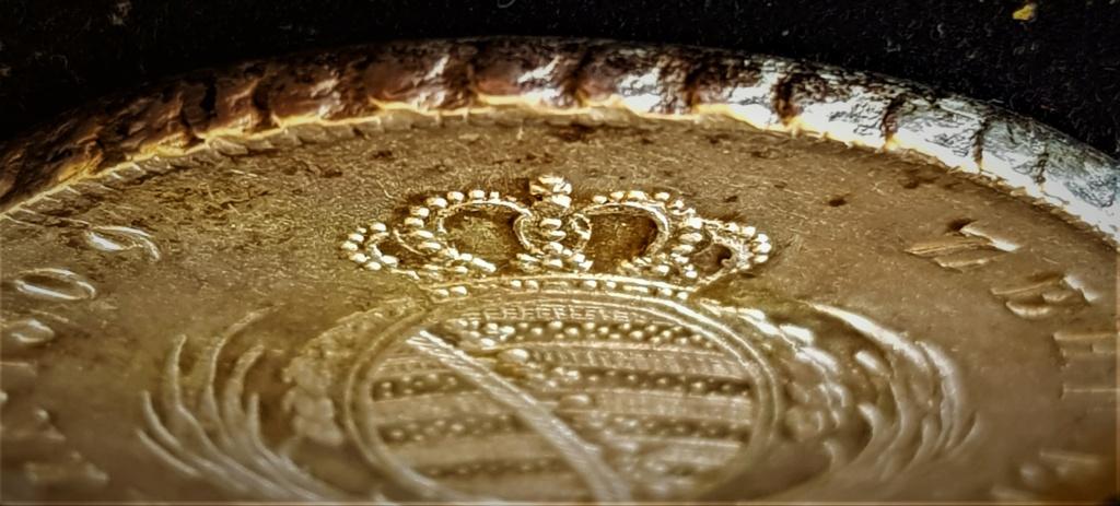 1 Thaler alemán de 1809 del Rey de Sajonia Federico Augusto III 20210725