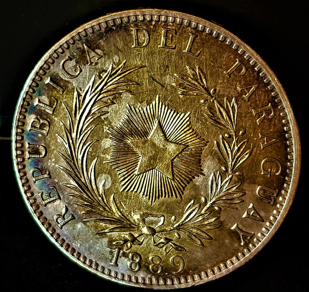 1 Peso Paraguayo de 1889 20210738