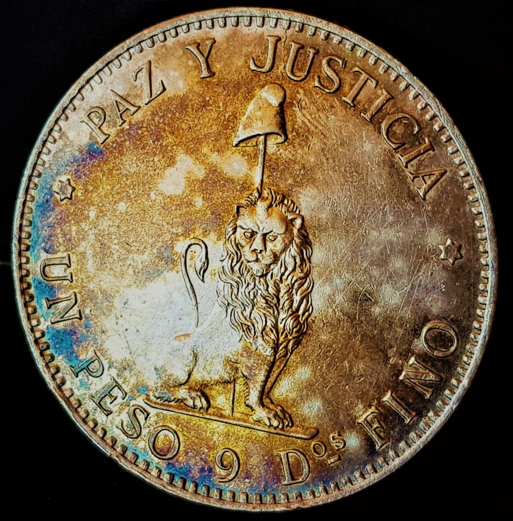 1 Peso Paraguayo de 1889 20210739