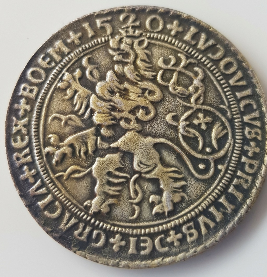 Joachim Thaler 1520. Reproducción actual. 210
