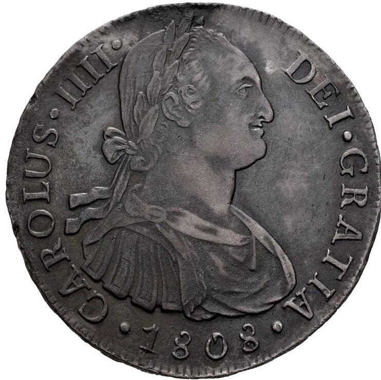 Carlos IV. 8 reales. 1808. Lima 8_real10