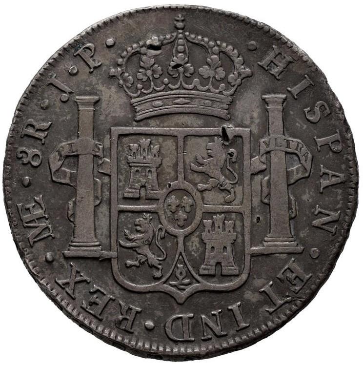 Carlos IV. 8 reales. 1808. Lima 8_real11