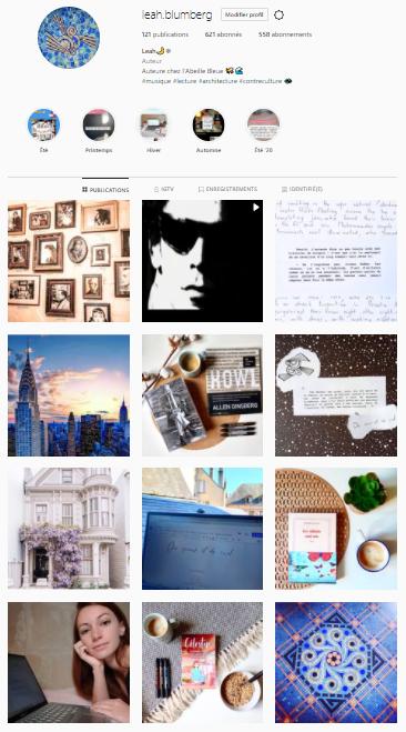Instagram & vie d'auteur Captur20