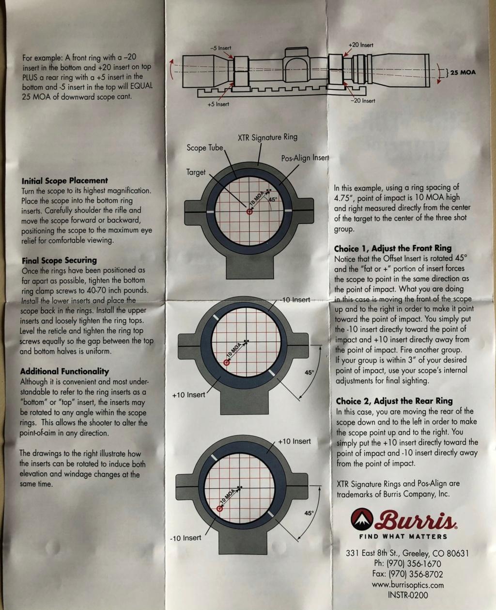 decalage en derive sur lunette - Page 2 Burris10