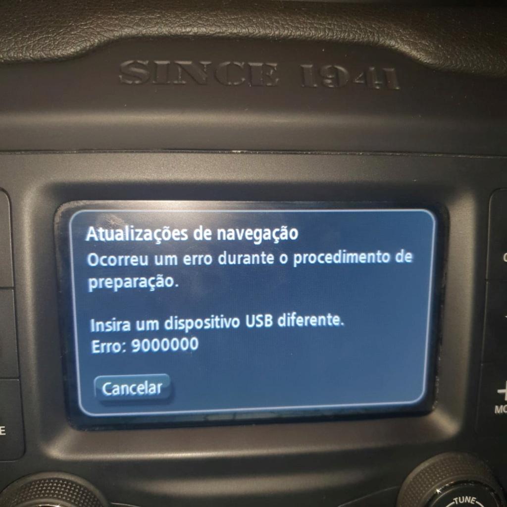 Problema - Atualização GPS Tomtom Whatsa10