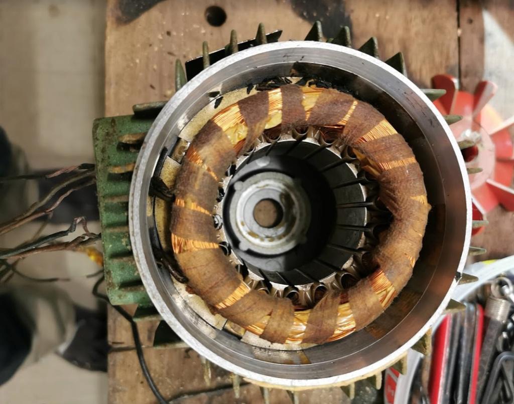 Restauration Mixer de boulangerie / pb moteur : changement moteur mais quid d'un arbre spécial ? 210