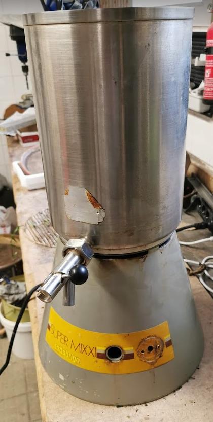 Restauration Mixer de boulangerie / pb moteur : changement moteur mais quid d'un arbre spécial ? Super-10