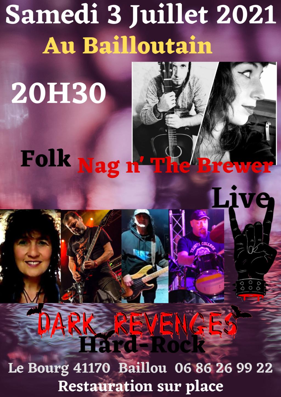 Dark Revenges Live au Bailloutain Samedi10