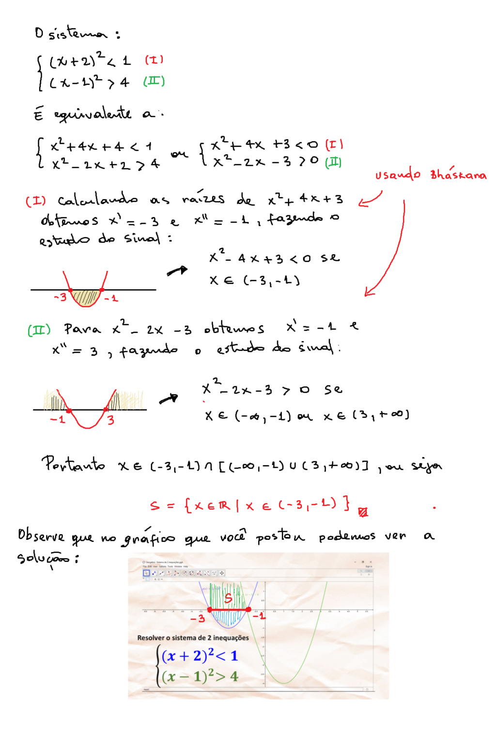 Sistema de 2 inequações Sistem10