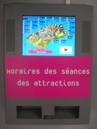 Fréquentation du Parc / Temps d'attente Borneh11