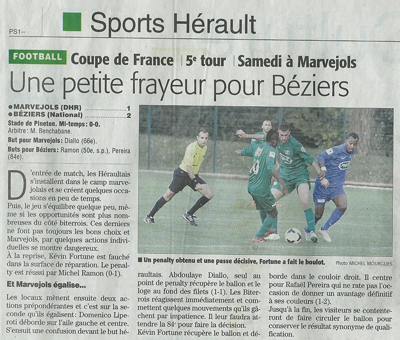 MARVEJOLS / AS Béziers (5ème tour Coupe de France) Cfbeiz10