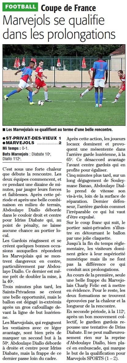 2ème tour de la Coupe de France Cftour10