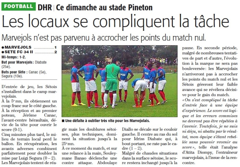 MARVEJOLS / FC Sète II Marvej10