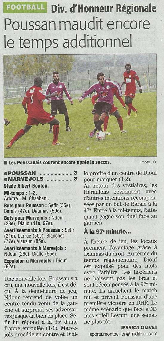 Poussan / MARVEJOLS Poussa11