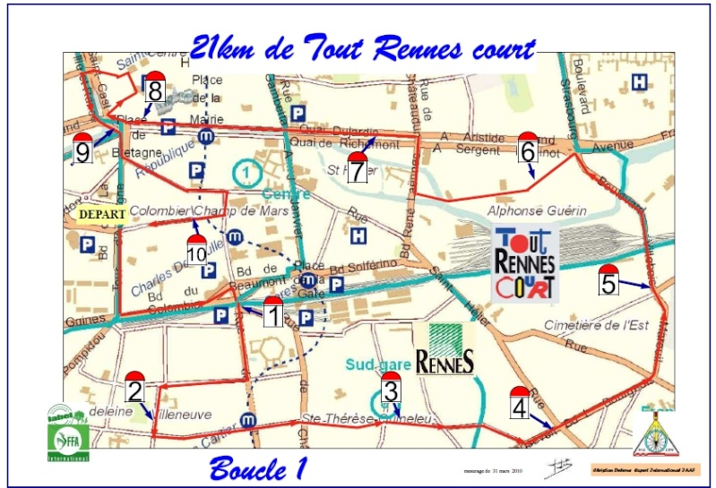 Christian ---) le semi-marathon de Tout Rennes court Boucle10