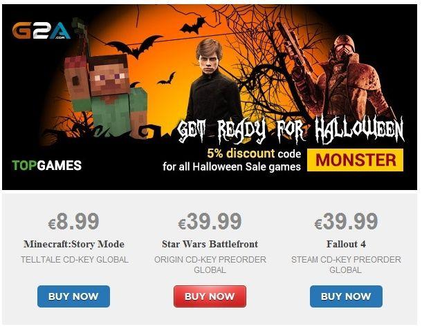 G2A - Offres Halloween Captur24
