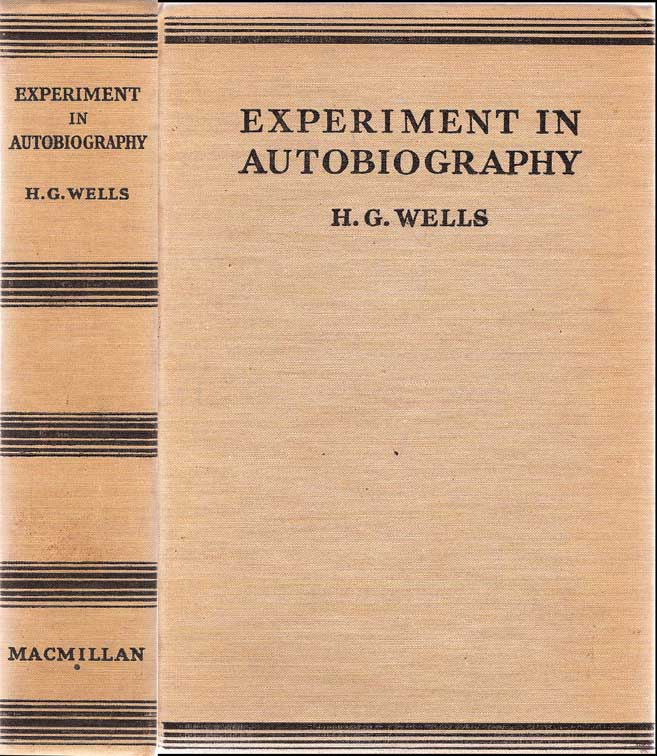 Autobiographie Wells 1934 Experi10
