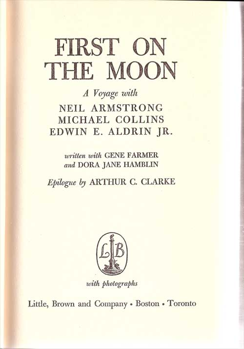 """Livres : """"First on the Moon"""" First_11"""