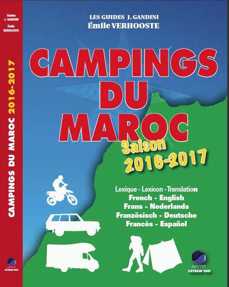 [Les GUIDES du Maroc] Mise à jour du Guide Campings 2016/2017 20162011