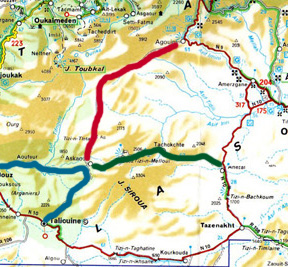 visite du sud du siroua-la vallée du safran Siroua10