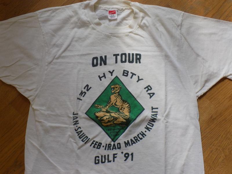 T-shirt Royal Artillery 132_he12