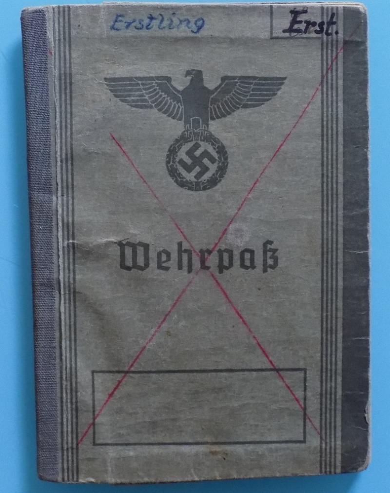 Vos livrets militaires allemands WWII (Soldbuch, Wehrpass..) / Heer-LW-KM-SS... - Page 2 Dscn3314