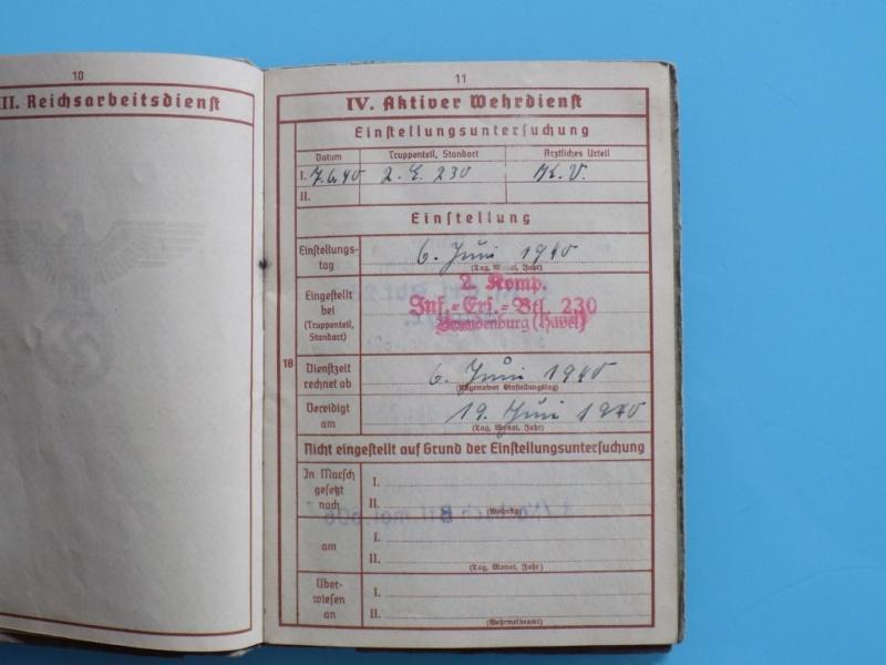 Vos livrets militaires allemands WWII (Soldbuch, Wehrpass..) / Heer-LW-KM-SS... - Page 2 Dscn3317