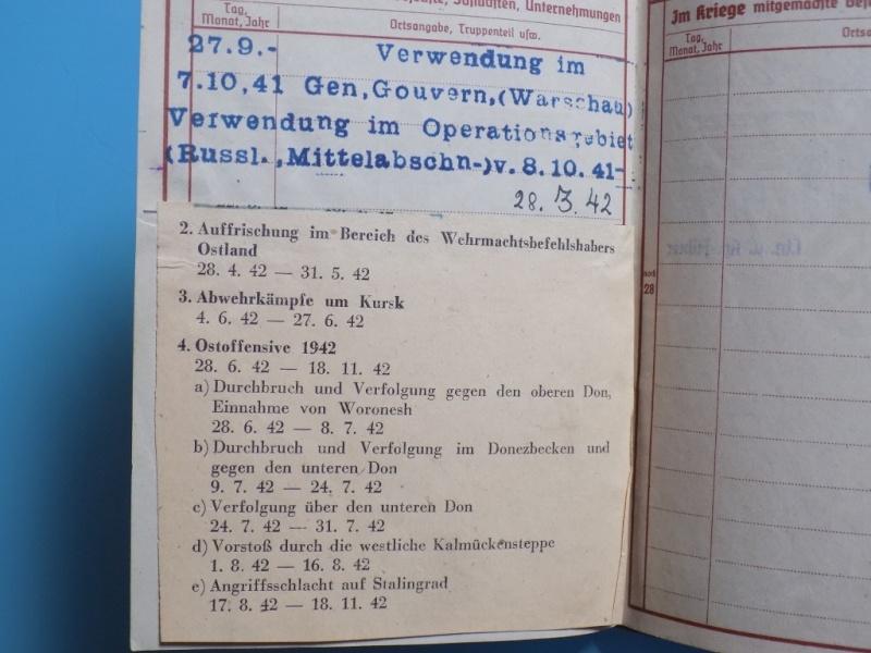 Vos livrets militaires allemands WWII (Soldbuch, Wehrpass..) / Heer-LW-KM-SS... - Page 2 Dscn3324