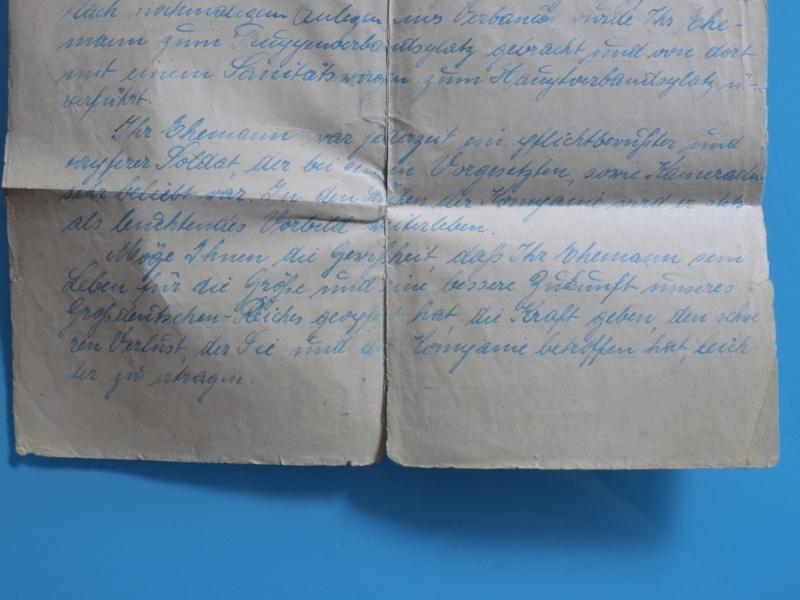 Vos livrets militaires allemands WWII (Soldbuch, Wehrpass..) / Heer-LW-KM-SS... - Page 2 Dscn3330