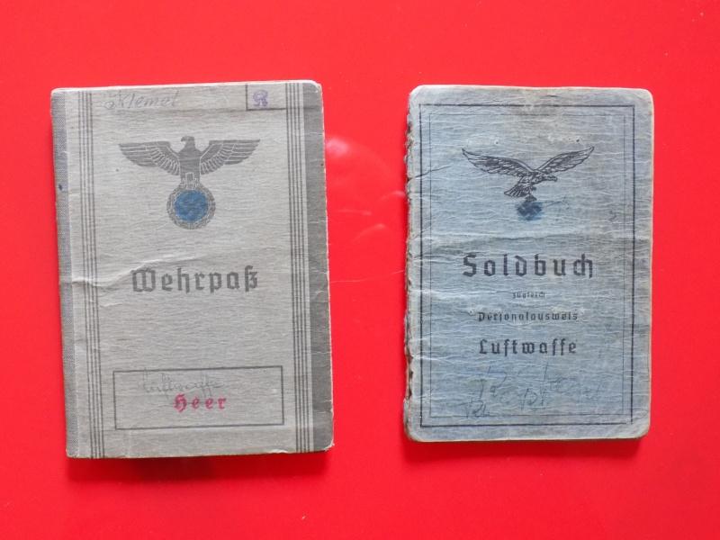 Vos livrets militaires allemands WWII (Soldbuch, Wehrpass..) / Heer-LW-KM-SS... - Page 2 Soldbu13
