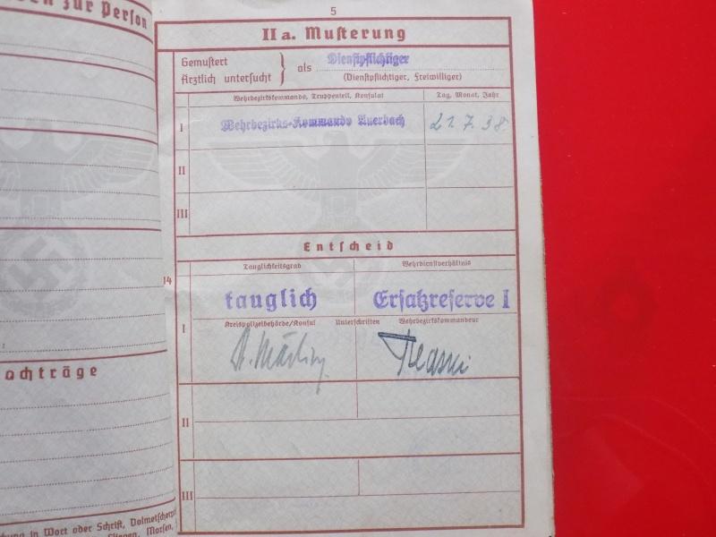 Vos livrets militaires allemands WWII (Soldbuch, Wehrpass..) / Heer-LW-KM-SS... - Page 2 Soldbu15