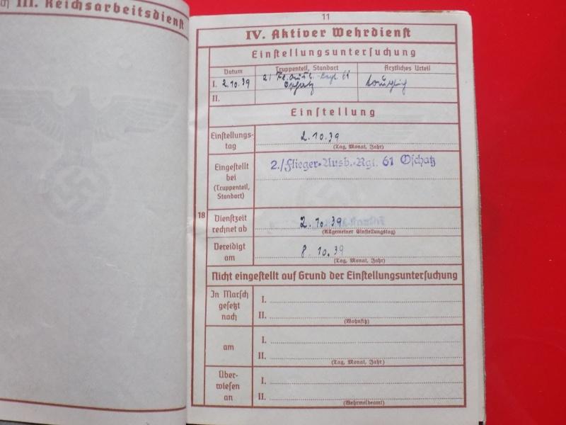 Vos livrets militaires allemands WWII (Soldbuch, Wehrpass..) / Heer-LW-KM-SS... - Page 2 Soldbu18