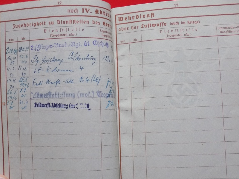 Vos livrets militaires allemands WWII (Soldbuch, Wehrpass..) / Heer-LW-KM-SS... - Page 2 Soldbu20