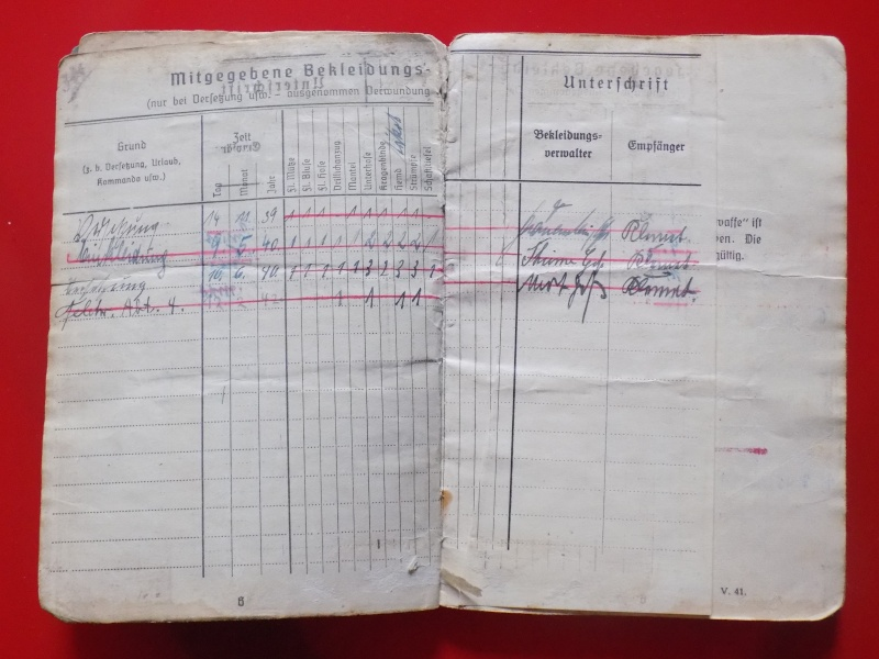 Vos livrets militaires allemands WWII (Soldbuch, Wehrpass..) / Heer-LW-KM-SS... - Page 2 Soldbu28