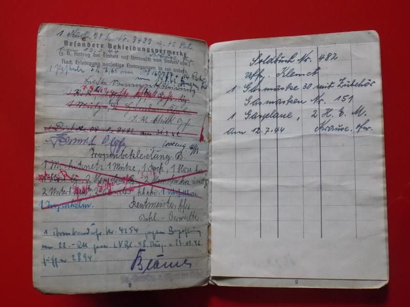 Vos livrets militaires allemands WWII (Soldbuch, Wehrpass..) / Heer-LW-KM-SS... - Page 2 Soldbu31