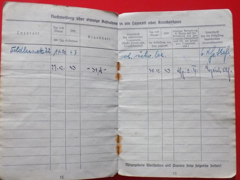 Vos livrets militaires allemands WWII (Soldbuch, Wehrpass..) / Heer-LW-KM-SS... - Page 2 Soldbu32