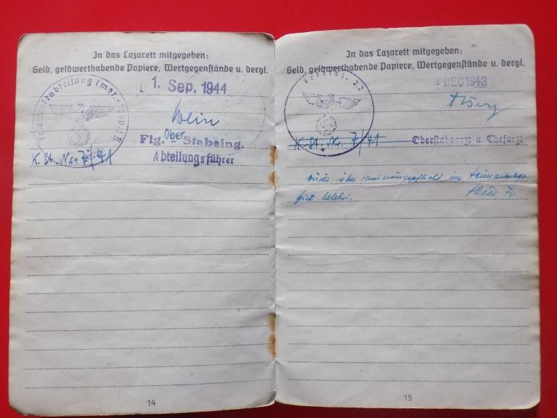 Vos livrets militaires allemands WWII (Soldbuch, Wehrpass..) / Heer-LW-KM-SS... - Page 2 Soldbu33