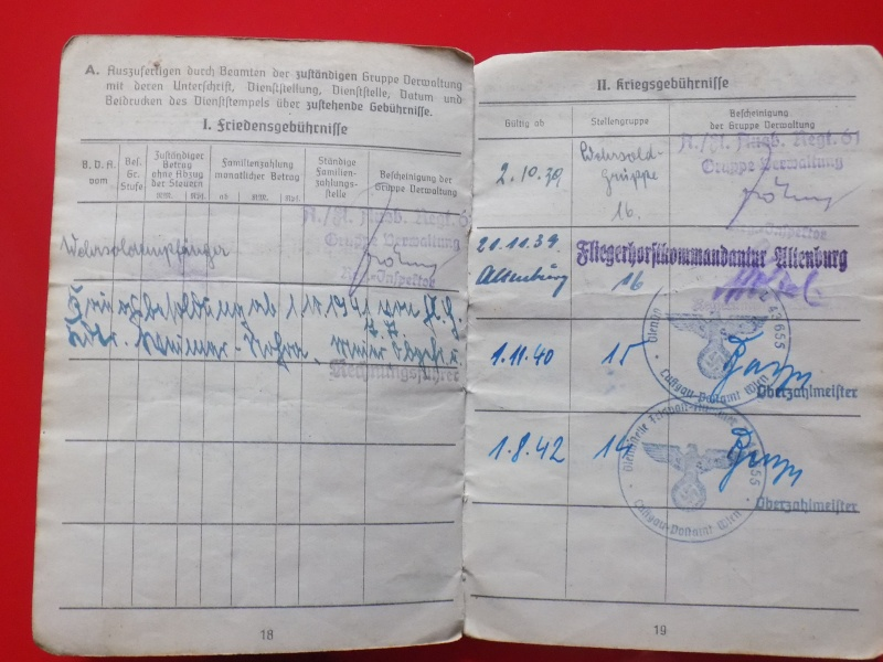 Vos livrets militaires allemands WWII (Soldbuch, Wehrpass..) / Heer-LW-KM-SS... - Page 2 Soldbu35