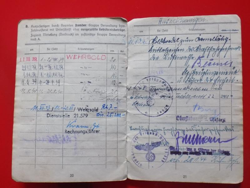 Vos livrets militaires allemands WWII (Soldbuch, Wehrpass..) / Heer-LW-KM-SS... - Page 2 Soldbu36