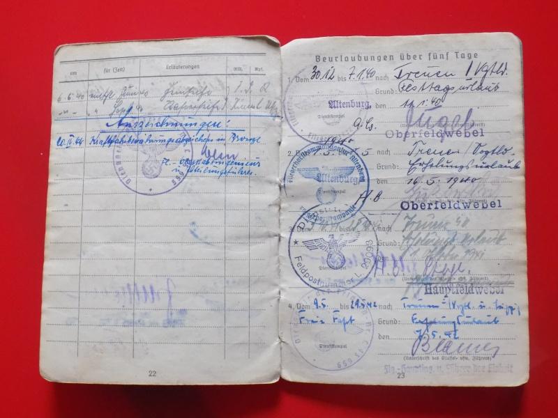 Vos livrets militaires allemands WWII (Soldbuch, Wehrpass..) / Heer-LW-KM-SS... - Page 2 Soldbu37