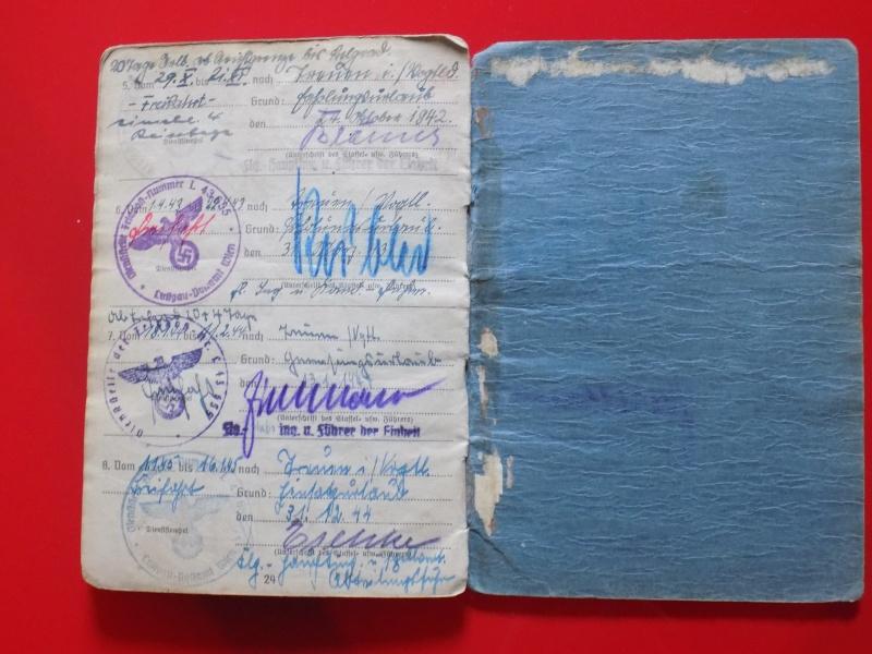 Vos livrets militaires allemands WWII (Soldbuch, Wehrpass..) / Heer-LW-KM-SS... - Page 2 Soldbu38