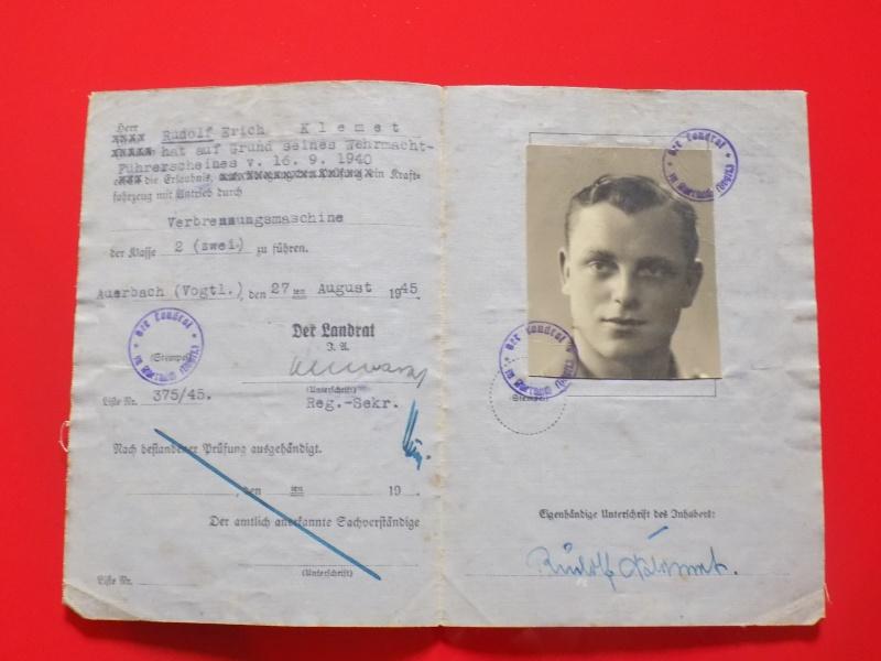 Vos livrets militaires allemands WWII (Soldbuch, Wehrpass..) / Heer-LW-KM-SS... - Page 2 Soldbu40